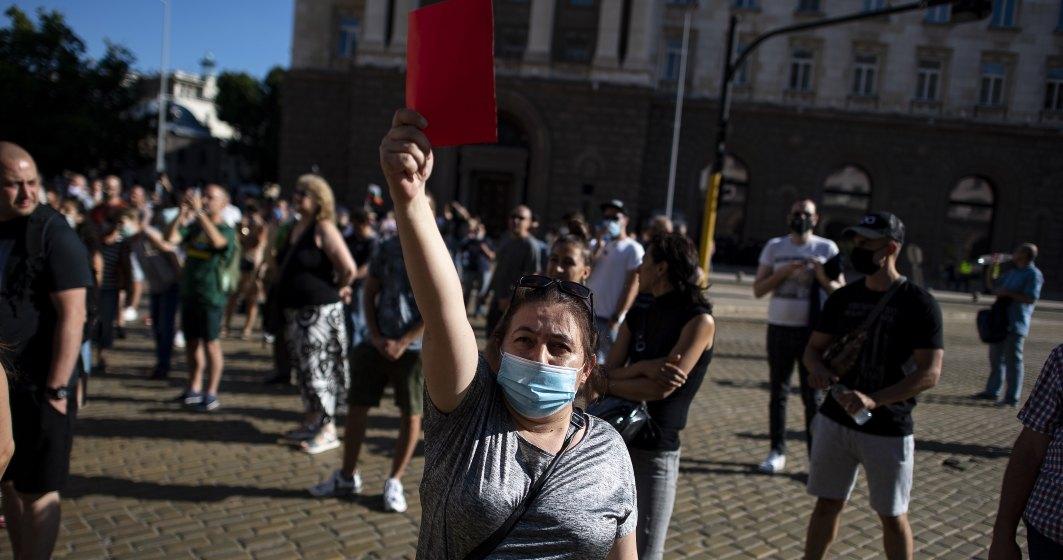 Bulgaria: A opta zi de manifestaţii antiguvernamentale