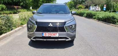 #WSDriveTest cu Mitsubishi Eclipse Cross PHEV, un nou SUV hibrid plug-in
