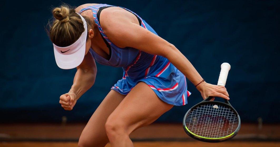 Simona Halep a câștigat turneul de tenis de la Praga