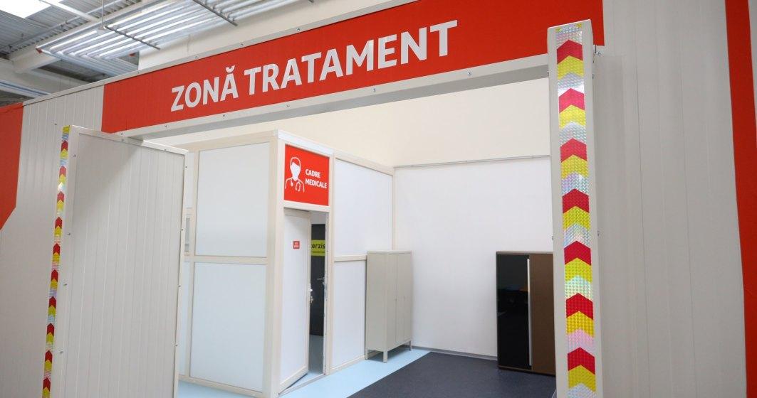 Auchan și Leroy Merlin au finalizat amenajarea Unității de Suport Medical Bucureștii Noi și au predat-o autorităților