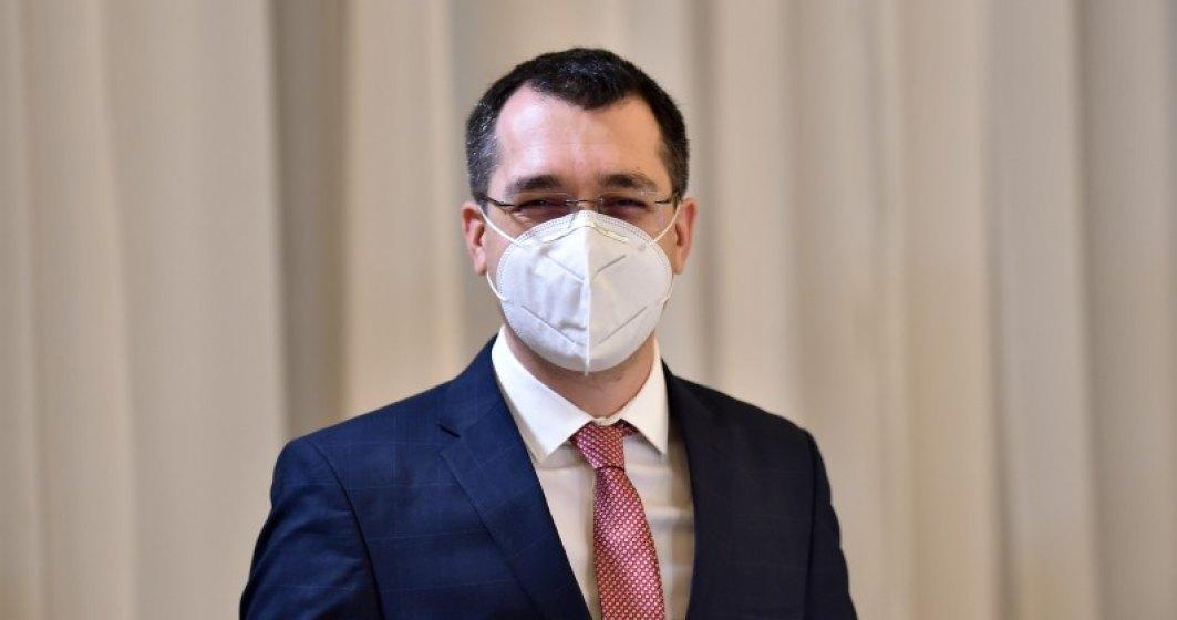 Vlad Voiculescu, ministrul Sănătății: La începutul lunii aprilie, 1,3 mil. de români vor fi vaccinați anti-COVID