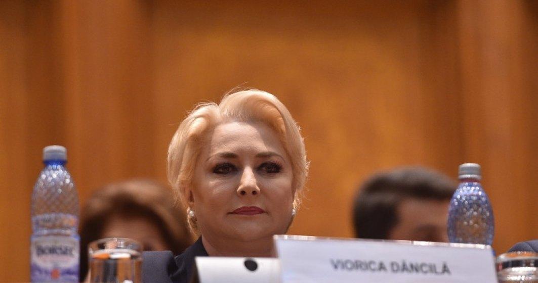 Viorica Dancila ii cere din nou lui Iohannis sa numeasca ministri la Transporturi si Dezvoltare