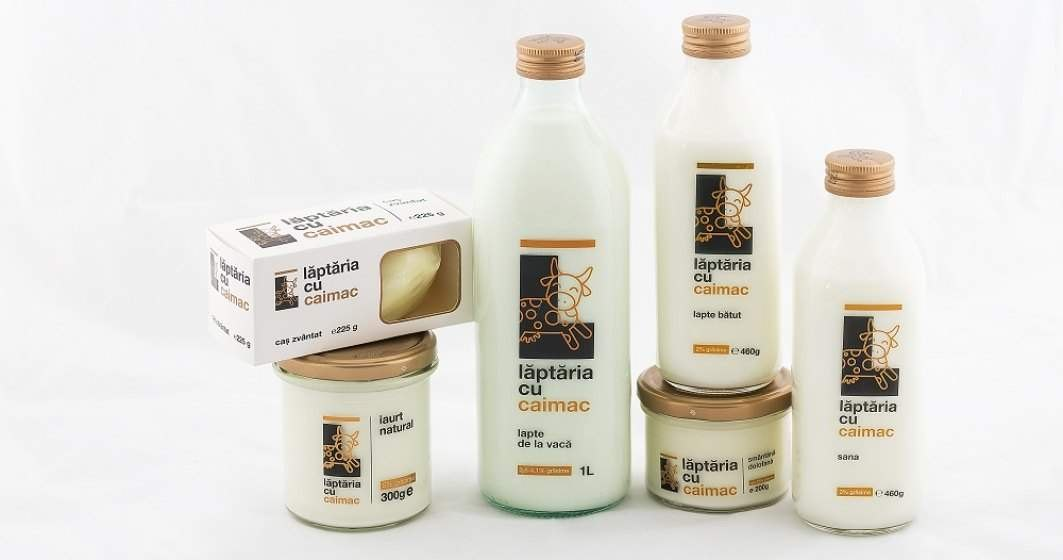 """Lăptăria cu Caimac a venit pe bursă. Cât de profitabil este în realitate laptele """"premium""""?"""