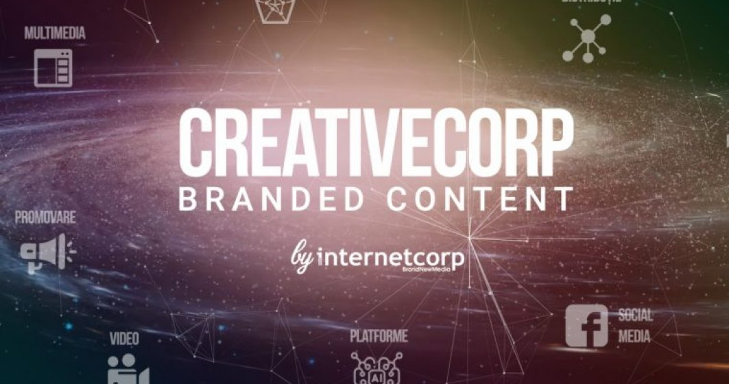 InternetCorp lanseaza divizia de branded content, Creative Corp