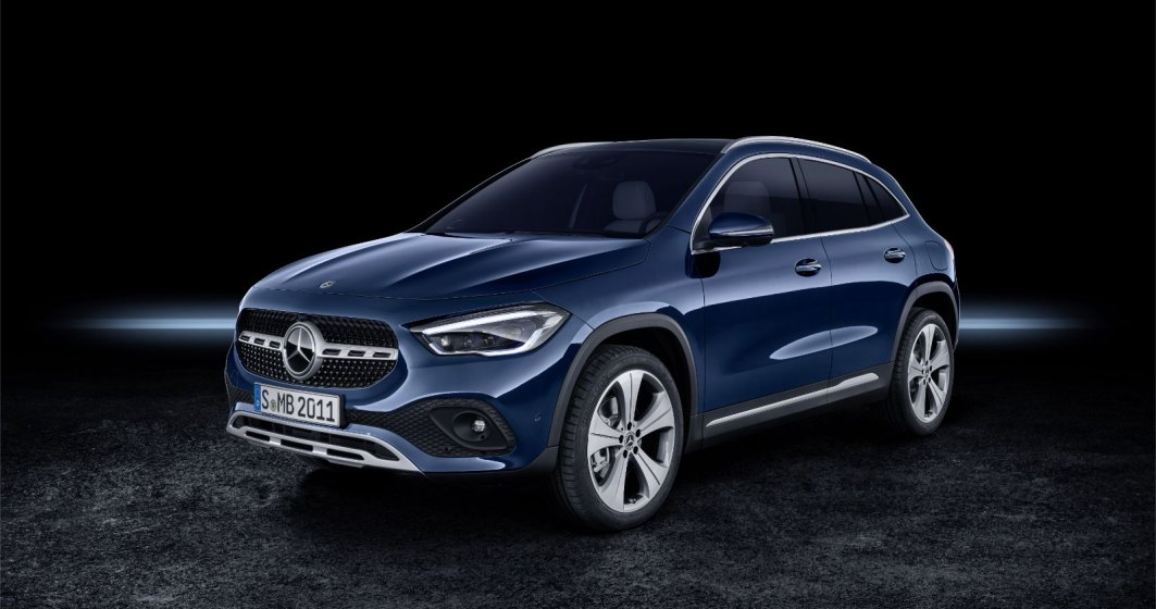 Noul Mercedes-Benz GLA a ajuns în România. Va avea o versiune plug-in hibridă și una electrică