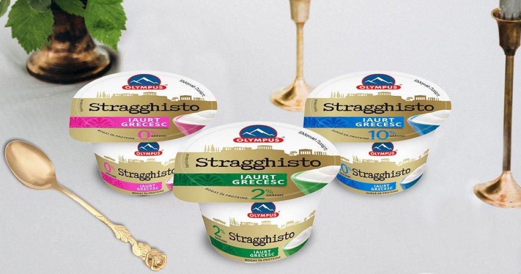Olympus investeste peste 20 de milioane de euro intr-o noua linie de productie si lanseaza pe piata locala noul iaurt grecesc