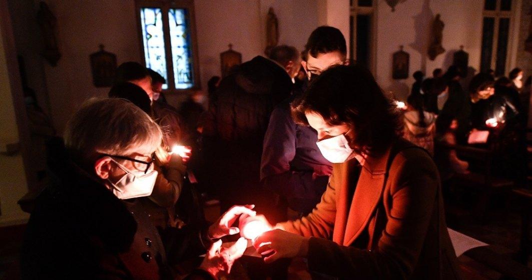 La Slujba de Înviere vor putea participa circa 600 de persoane