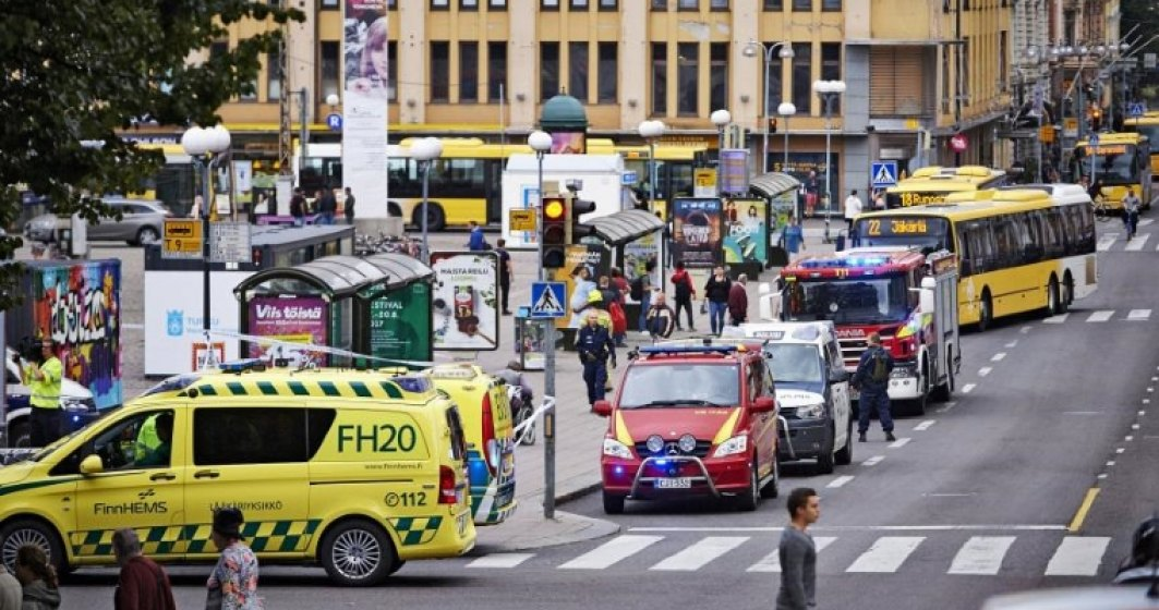 Politia a arestat inca cinci persoane in Finlanda, in urma atacului de la Turku