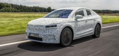 Skoda pregătește o versiune coupe pentru SUV-ul electric Enyaq