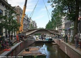 VIDEO | A fost inaugurat primul pod din lume imprimat 3D