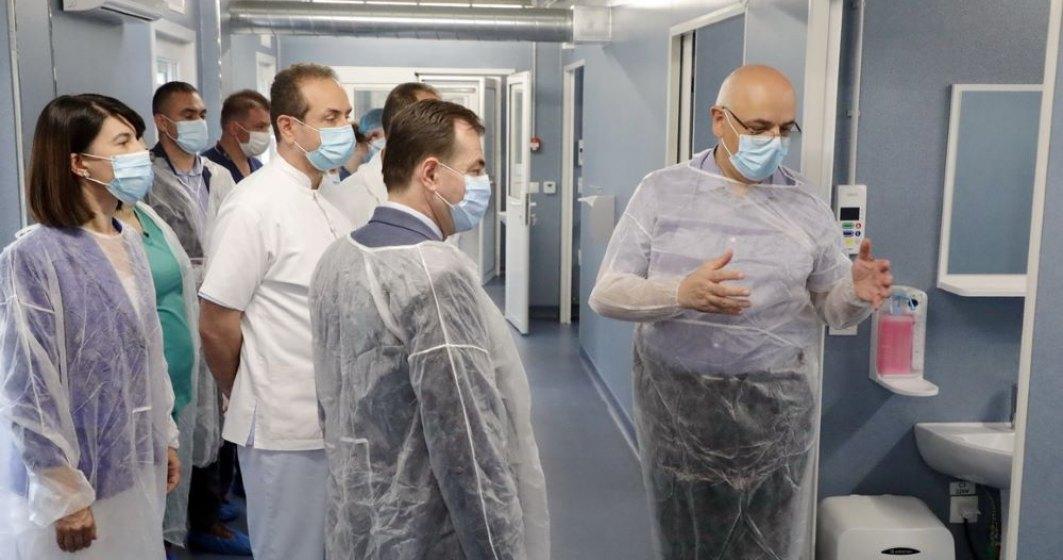 Noi paturi la ATI. Orban: De marți pot veni primii pacienți în Spitalul Modular de la Elias