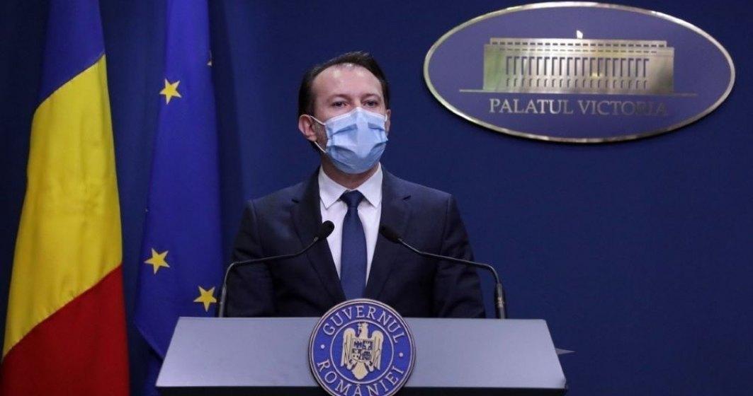 Cîțu: România este în top 5 țări din lume după creșterea economică în pandemie