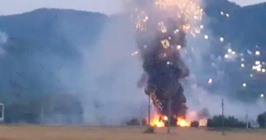 BREAKING NEWS | Explozie la uzina de armament Tohan Zărnești