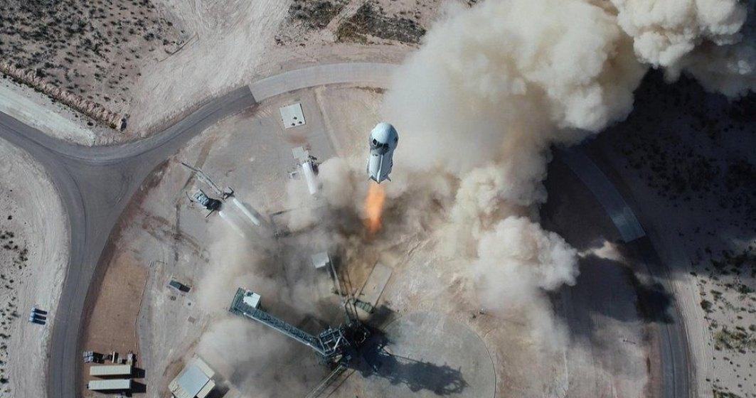 Jeff Bezos a anunțat data primului zbor pentru agrement în spațiu