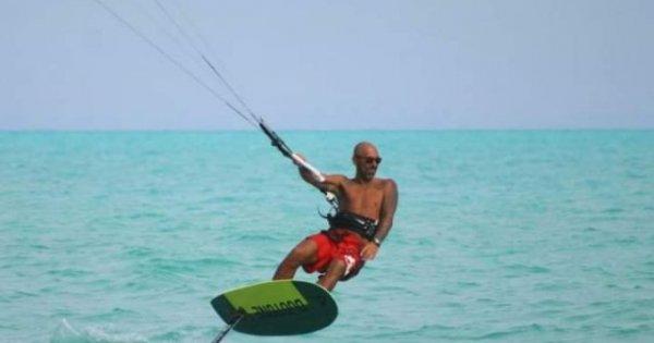 """Marius Dan, instructor de kite: """"Nu am făcut niciodată lucruri absolut..."""
