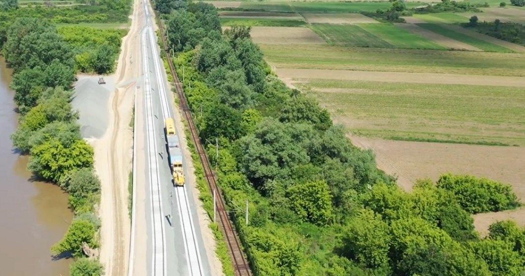 VIDEO  Cum va arăta noul pod feroviar pe linia Arad-Deva