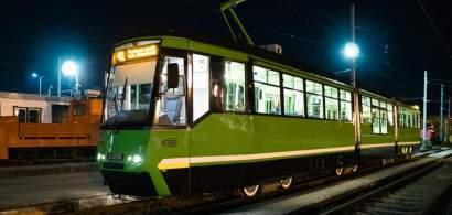 FOTO | Noutăți pe linia 41: au fost modernizate trei tramvaie