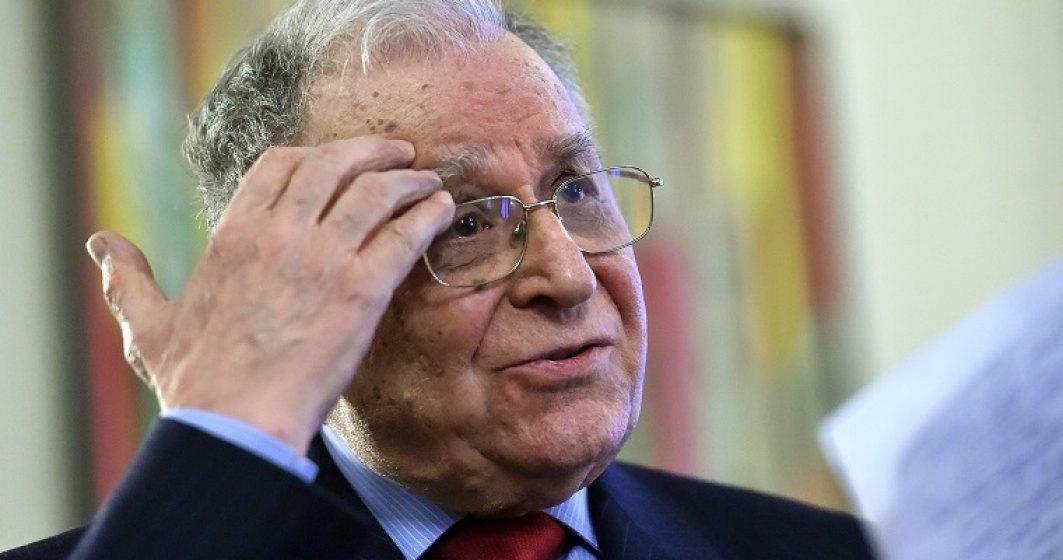 Judecatorii ICCJ au respins solicitarea de a pune sechestru pe averea lui Ion Iliescu