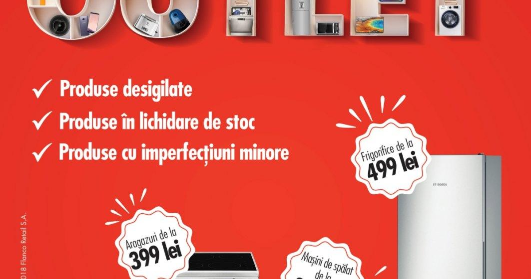 Premiera in Bucuresti: Flanco lanseaza primul outlet electro-IT