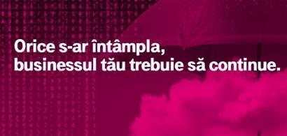 """Telekom Romania a lansat pachetul gratuit """"Continuitatea afacerii"""", prin care..."""