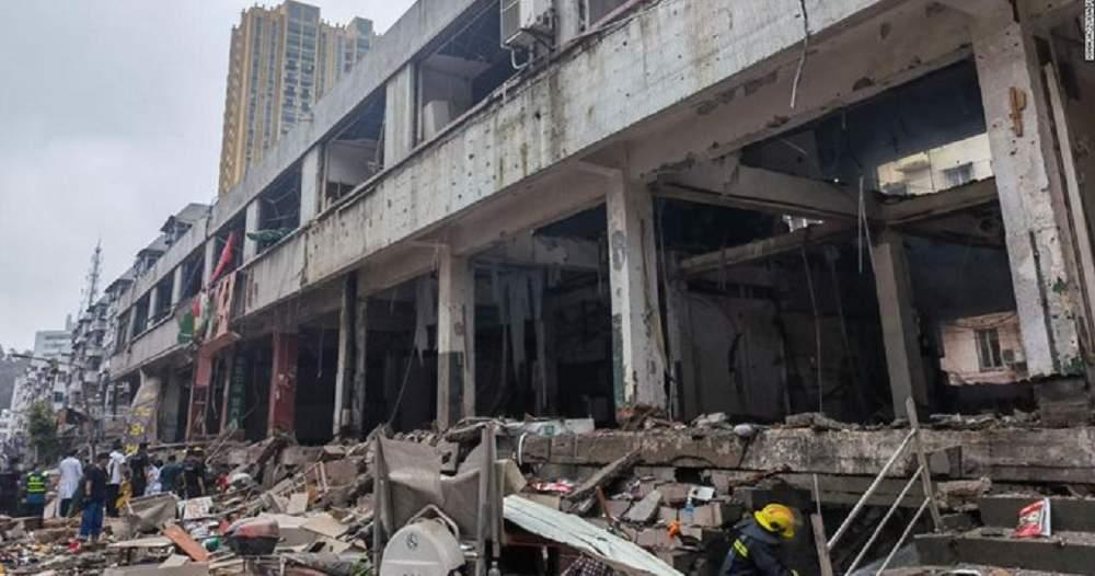 China: Explozie uriașă a unui conducte de gaz. Peste 10 oameni au decedat și...