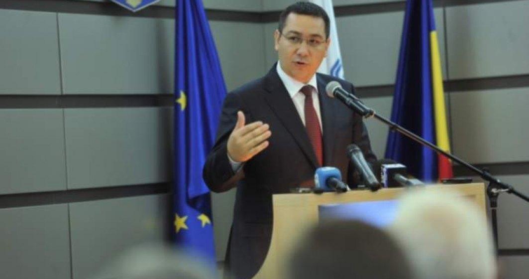 Ponta se suceste: Vrea candidat comun PSD-ALDE-PRO Romania