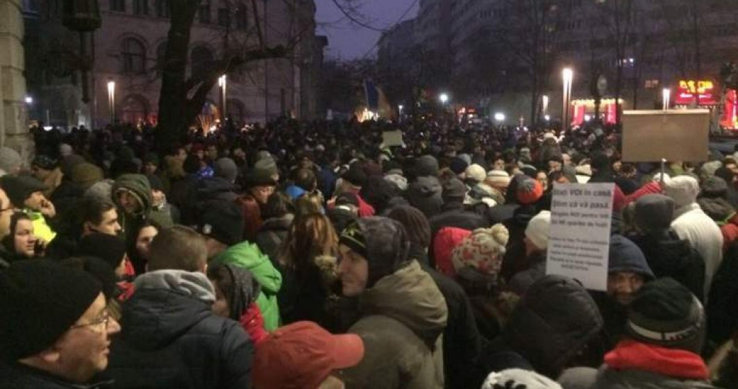 Noi proteste pe tema gratierii anuntate duminica in Bucuresti si in alte cinci judete