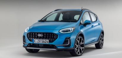 Ford prezintă noul Ford Fiesta facelift