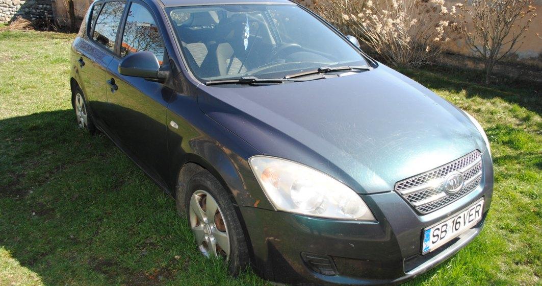 Mașini scoase la vânzare de către ANAF în luna mai