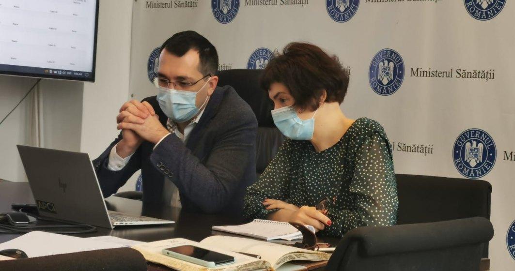 Ministerul Sănătății va reorganiza circuitele COVID-19 în spitale