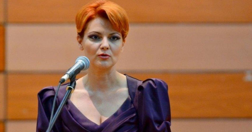 Lia Olguta Vasilescu: Plafonarea indemnizatiilor pentru cresterea copiilor va opri o inselatorie a statului roman