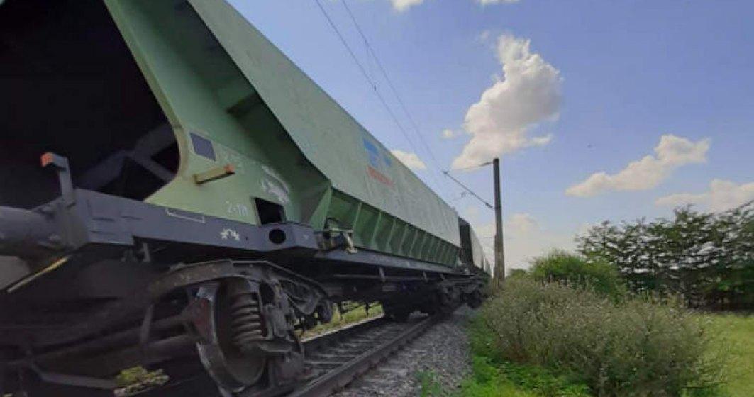 20 de trenuri sunt afectate de blocajul generat de deraierea unor vagoane de tren la Fetești