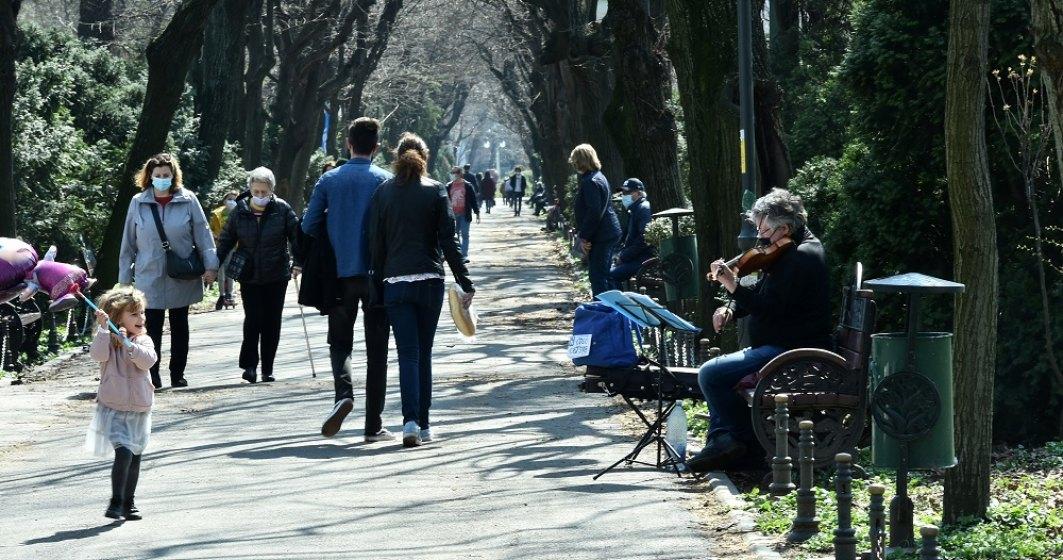 Care ar putea fi noile măsuri de relaxare în București, după ce rata de infectare a scăzut sub 1,5 la mie