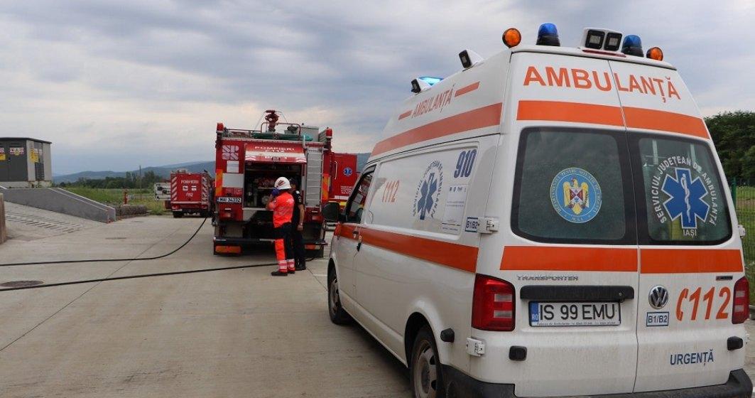 Incendiu la Spitalul de copii din Iași