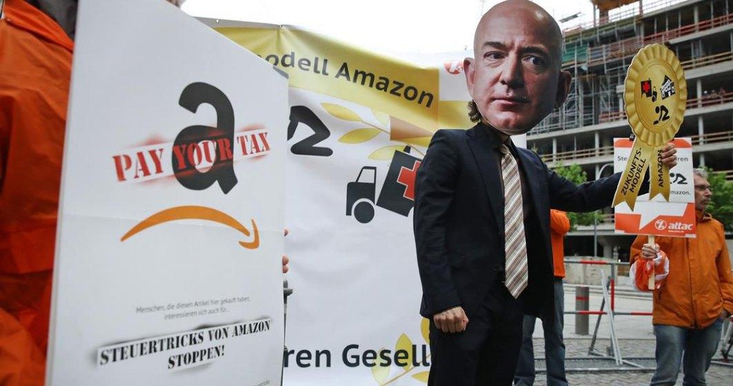 Protest de amploare al angajatilor Amazon, chiar inainte de Black Friday