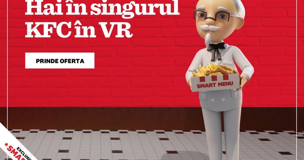 KFC a deschis primul restaurant in VR, Smarket, exclusiv pentru Smart Menu