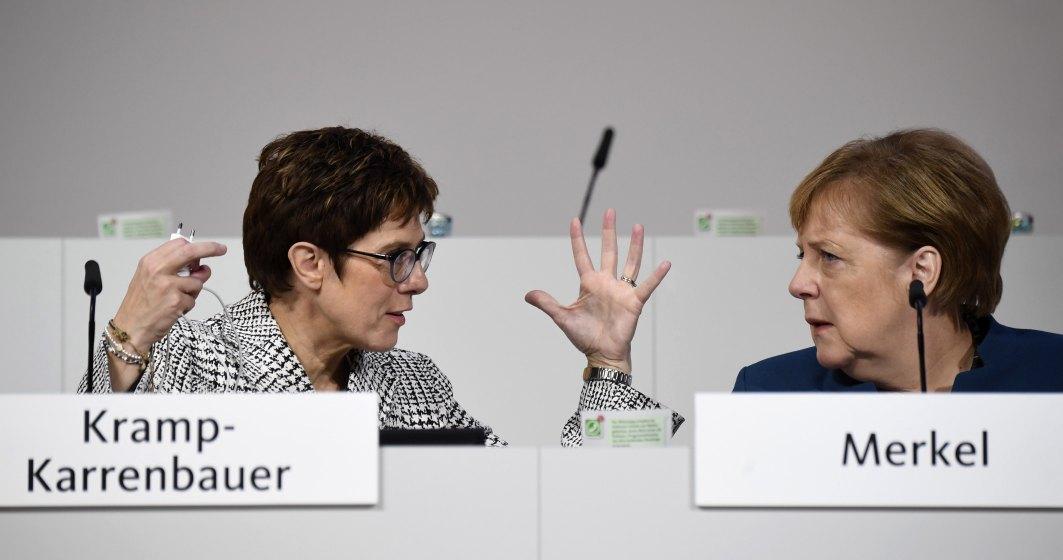Membrii Uniunea Crestin-Democrata din Germania se reunesc pentru a alege succesorul Angelei Merkel