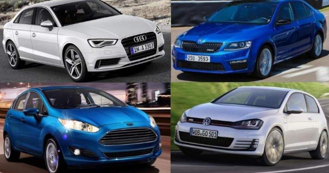 Piata auto a crescut cu 16% in primele 8 luni