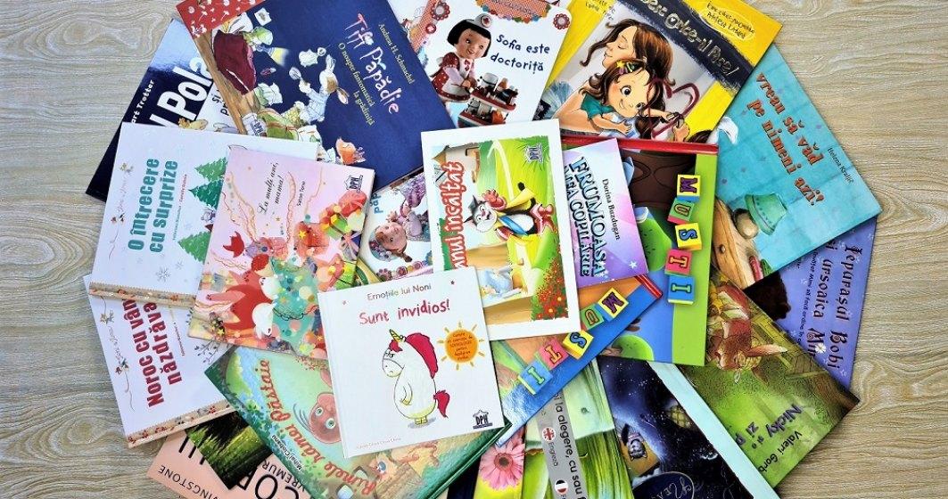 O editură donează peste 1.000 de cărți bibliotecilor publice din România