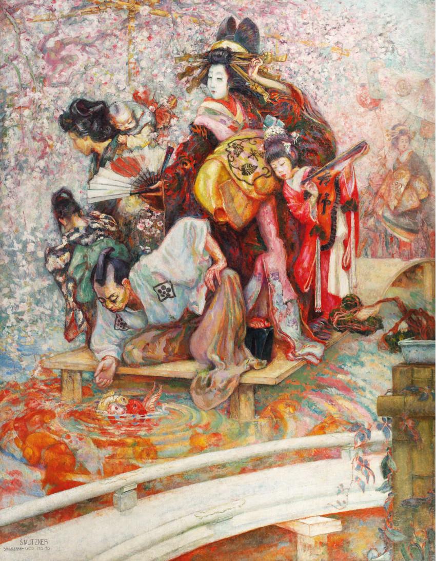 """Curtezane din Shimabara"""" de Samuel Mutzner"""