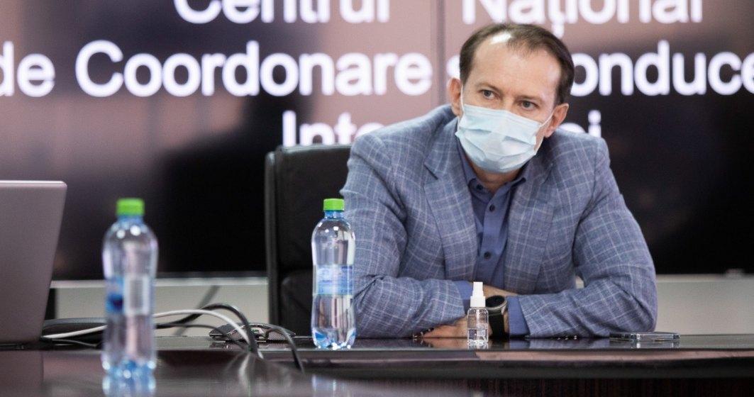 Cîțu, despre vaccinarea obligatorie: Nu știu ce se va întâmpla cu cei care refuză