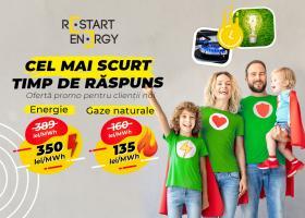 (P) Restart Energy oferă prețuri mai mici pentru clienții noi