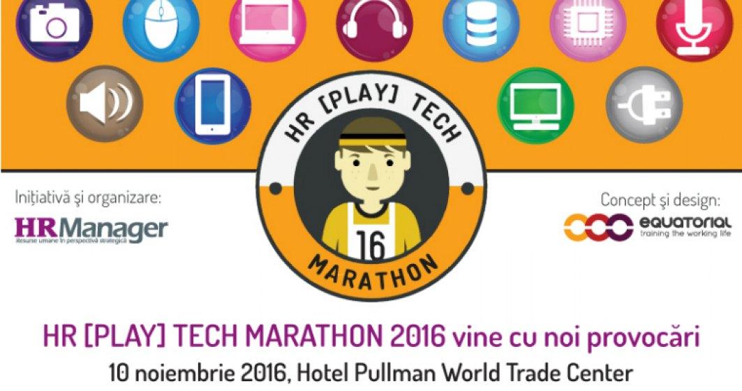 (P) HR  PLAY  Tech Marathon, editia a II-a, vine cu noi provocari pentru managerii HR