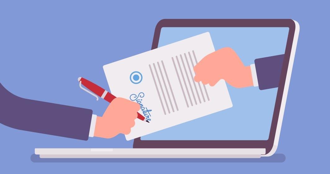 Cum semnăm documente când lucrăm de acasă