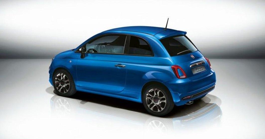 Fiat 500 va beneficia si de o propulsie hibrida