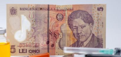 Euro atinge un nou nou maxim istoric în raport cu leul. Moneda națională a...