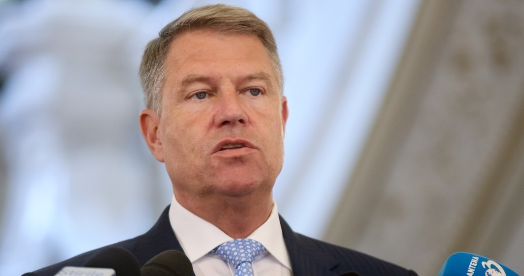 Klaus Iohannis: PSD face scandal de dragul scandalului, să mai prindă câteva voturi