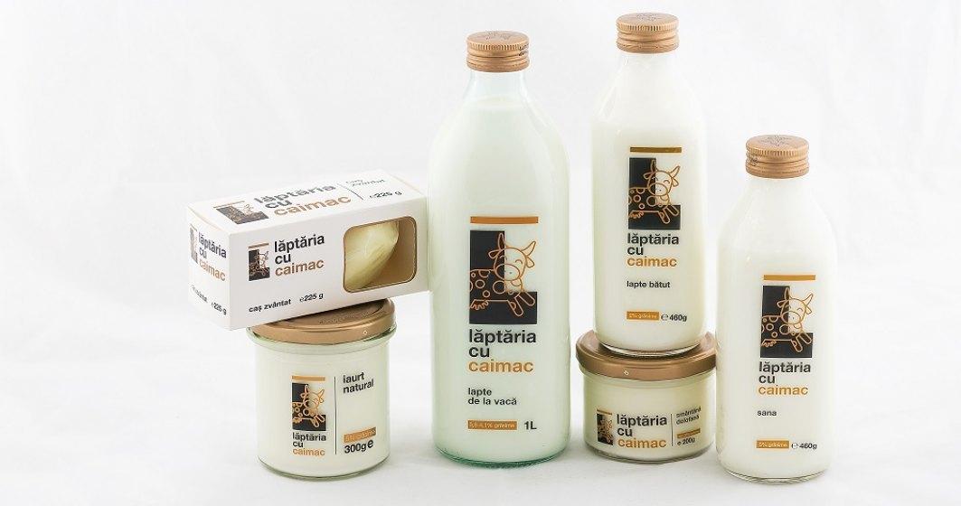 Laptaria cu Caimac tinteste afaceri in crestere cu 25% si se gandeste la colectarea sticlelor de la consumatori