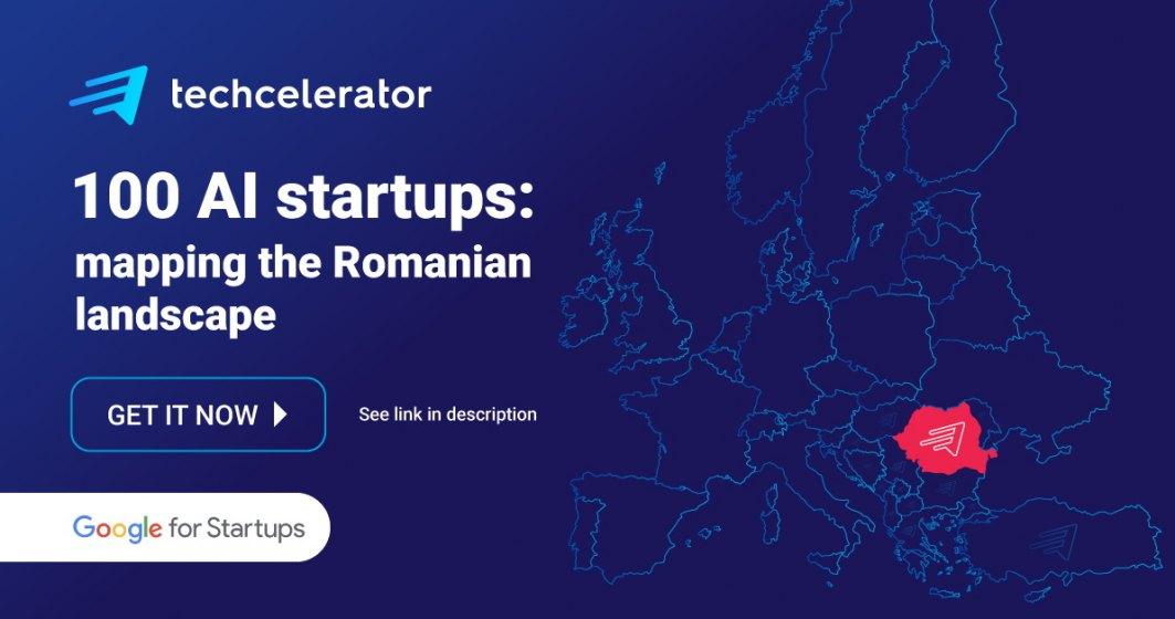 Techcelerator lansează 100 AI Startups, harta startup-urilor AI din România, și începe înscrierile la Advancing AI #2, programul de accelerare pentru startup-urile ce dezvolta AI în Europa de Sud-Est