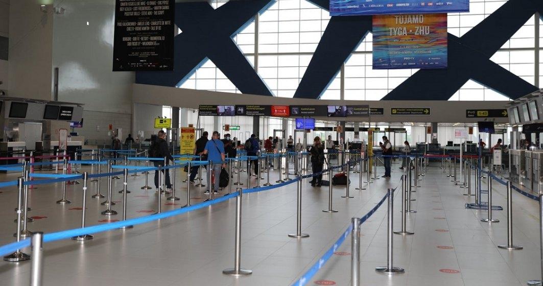 Pandemia schimbă regulile: Mai puține ghișee și porți de îmbarcare pe Aeroportul Otopeni, din cauza traficului redus
